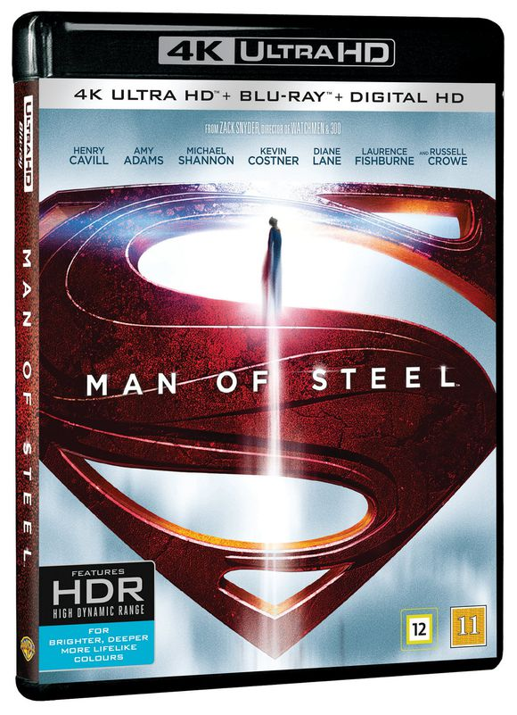Man of Steel 2013 4K UHD HDR 2160p