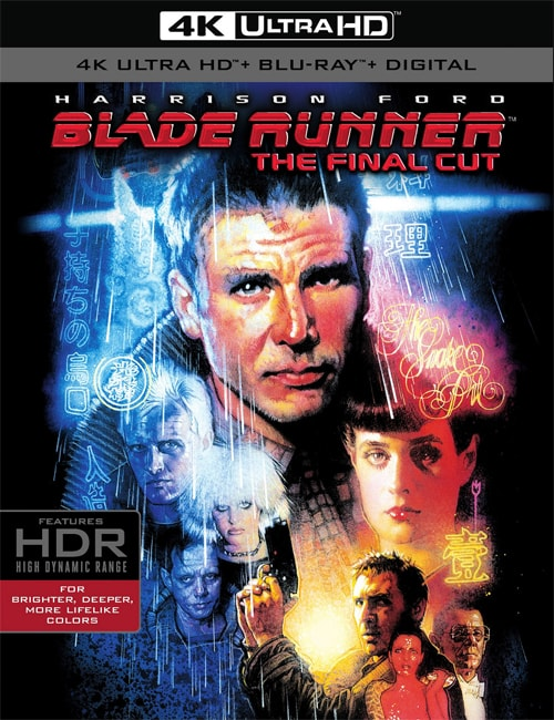 Blade Runner 1982 The Final Cut 4K 2160 HDR