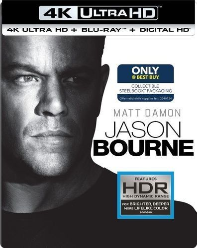 Jason Bourne 4K 2016 Ultra HD 2160p