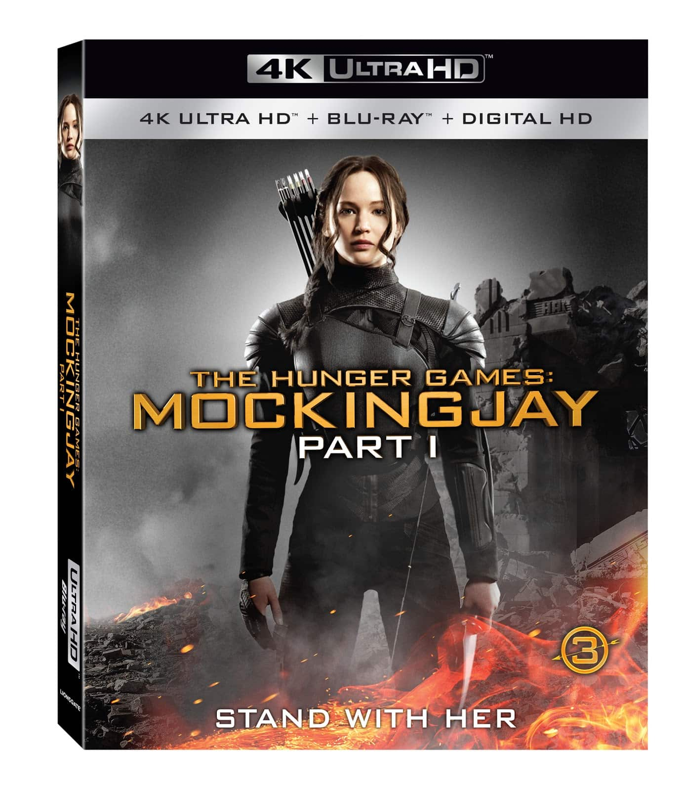 The Hunger Games Mockingjay Part 1 2014 4K 2160P Ultra HDR