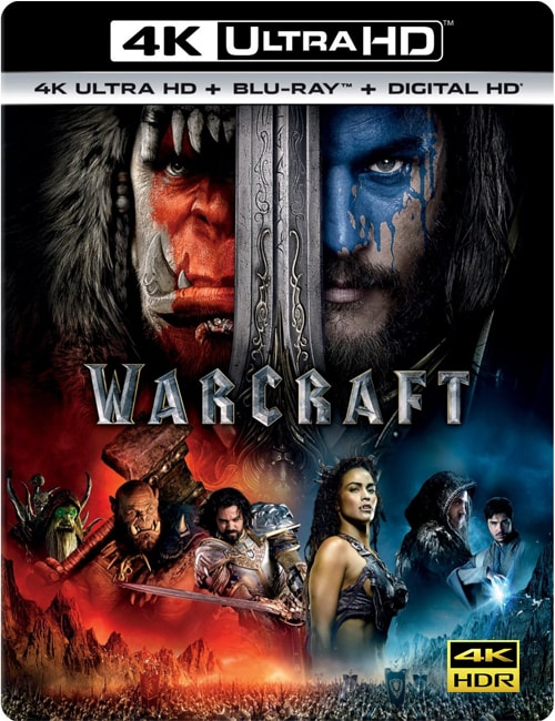 Warcraft 2016 Blu-ray 4K HDR