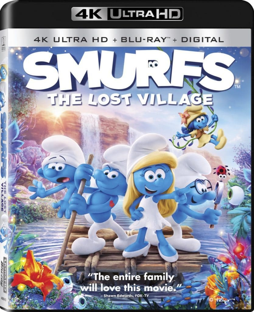 Smurfs The Lost Village 2017 4K 2160p BluRay x265 10bit HDR