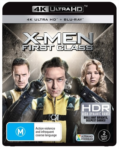 X-Men: First Class 2011 HDR Ultra HD Premium