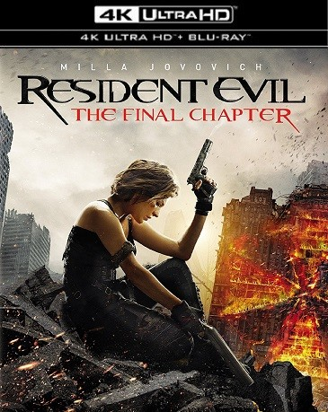 Resident Evil: The Final Chapter 2016 HDR Ultra HD Premium