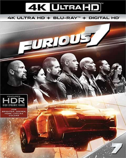 Furious Seven 2015 HDR10 4K Ultra HD
