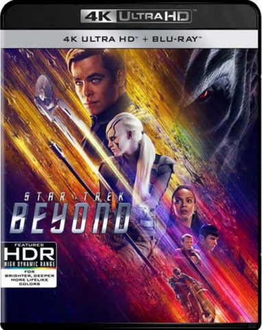 Star Trek: Beyond 2016 4K UHD
