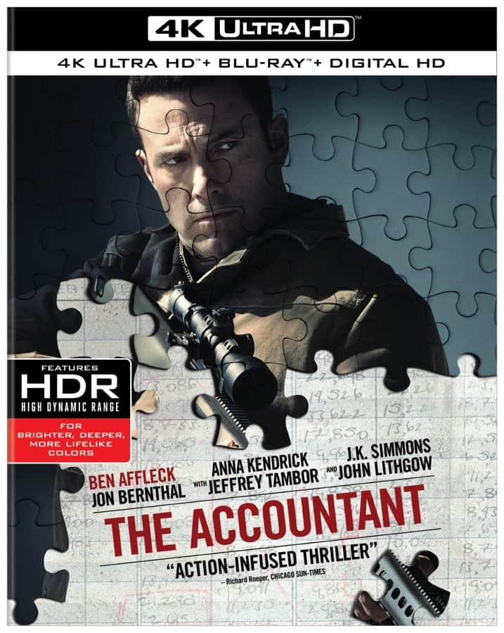 The Accountant 2016 4K Ultra HD 2160p RIP