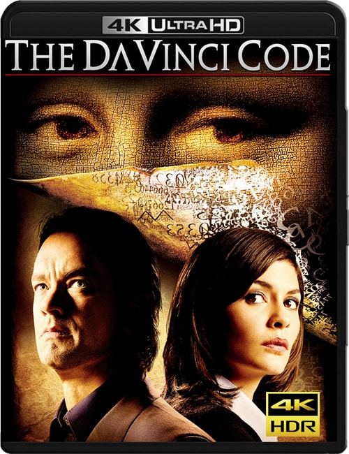 The Da Vinci Code 4K HDR 2006 Ultra HD 2160p