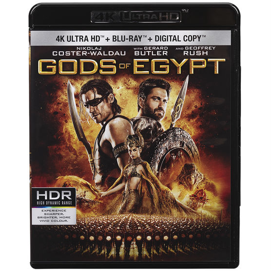 Gods of Egypt 4K 2016 HDR X265 UHD
