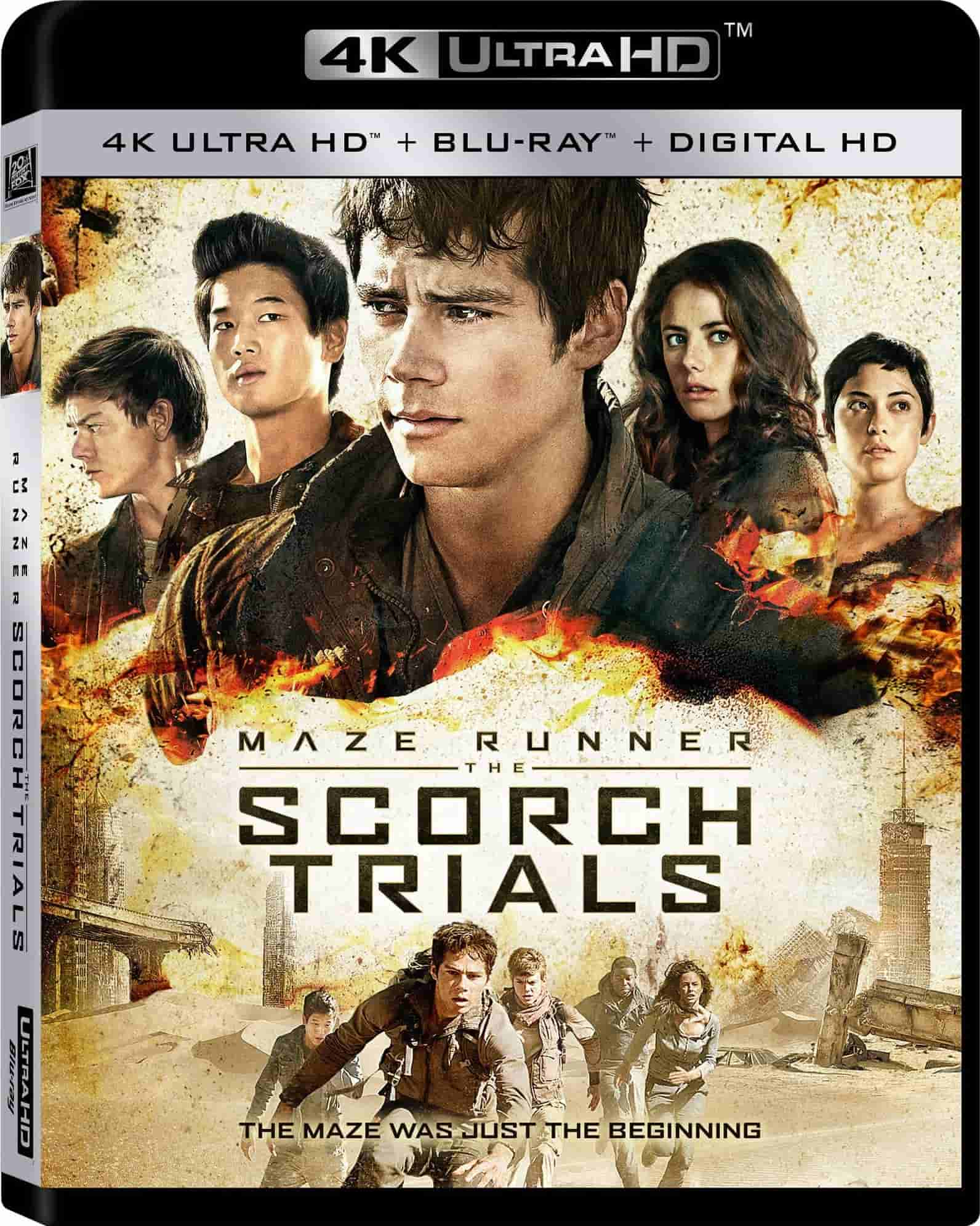 Maze Runner The Scorch Trials 4K 2015 Ultra HD