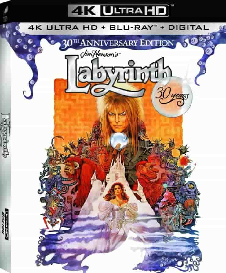 Labyrinth 1986 4K Ultra HD
