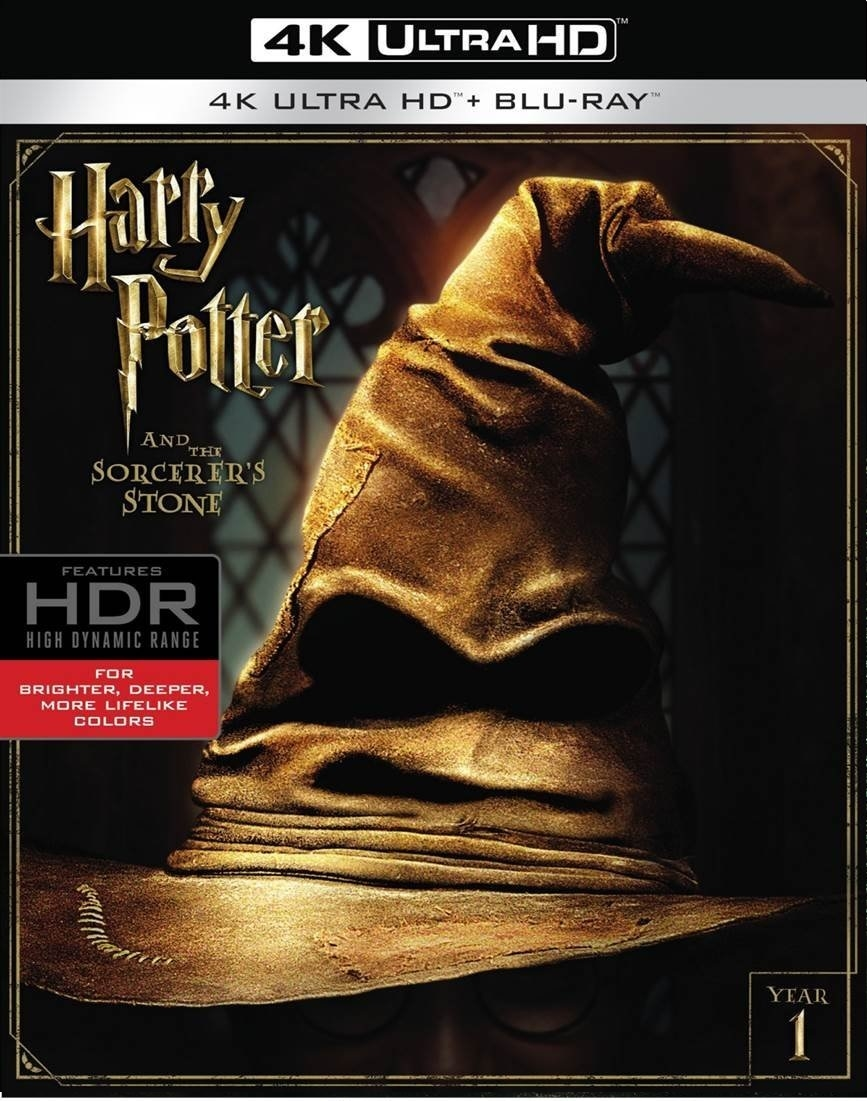 Harry Potter and the Sorcerer's Stone 4K 2001 HDR Rip