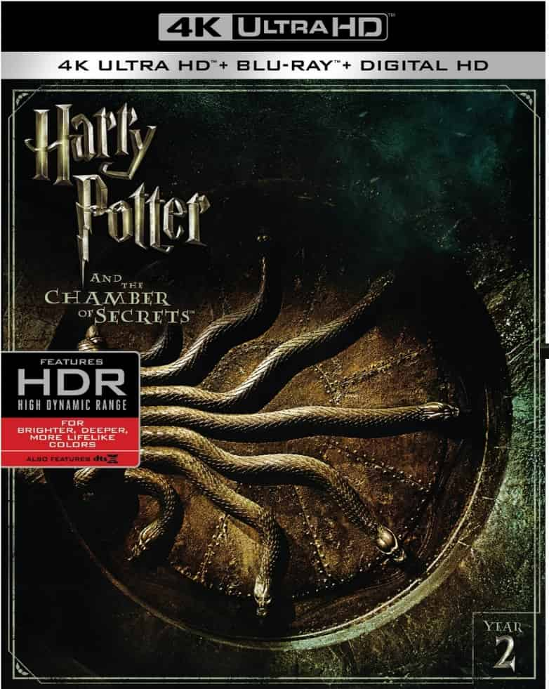 Harry Potter and the Chamber of Secrets 4K 2002 HDR 2160p