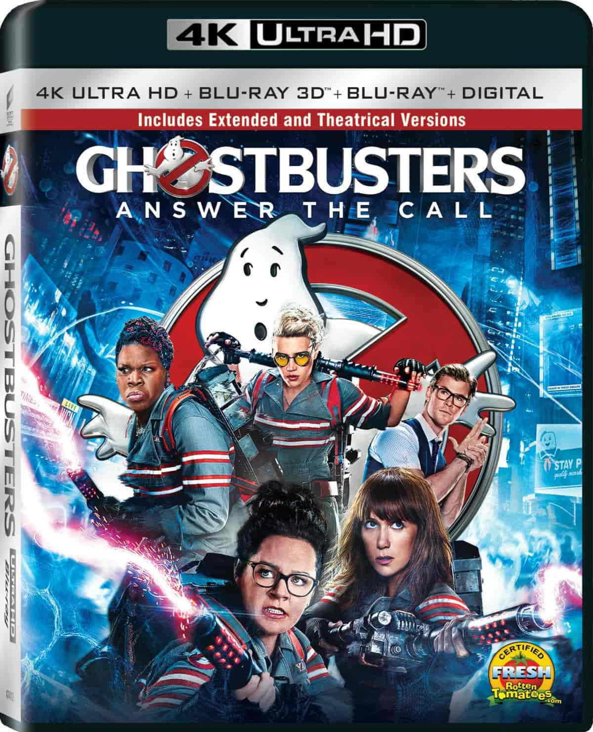 Ghostbusters 4K 2016 Ultra HD 2160p