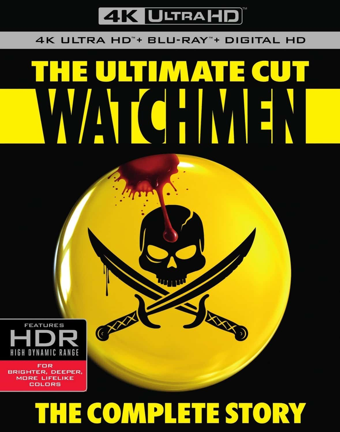 Watchmen 4K 2009 Ultra HD 2160P HDR