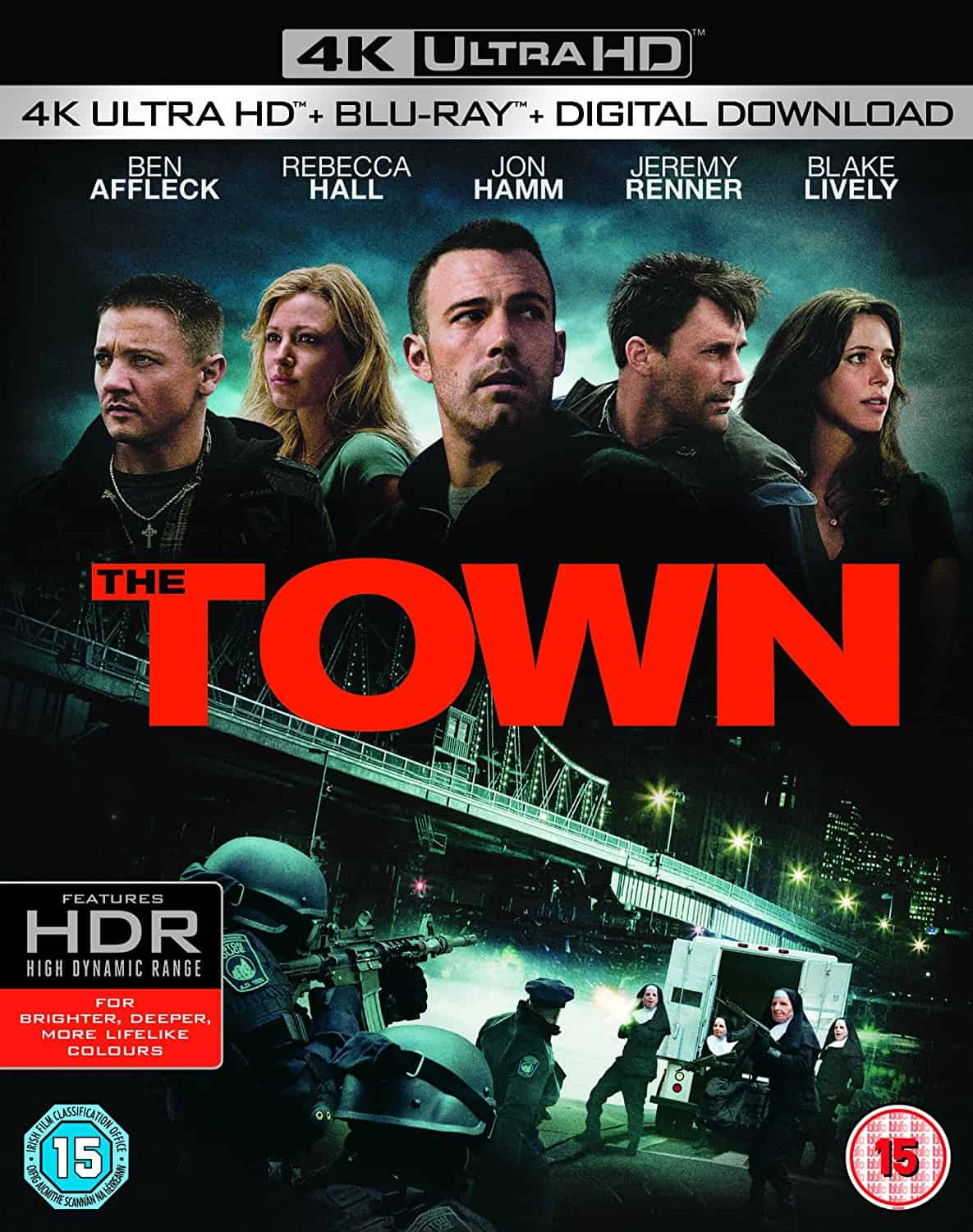 The Town 4K HDR 2010 Ultra HD 2160P