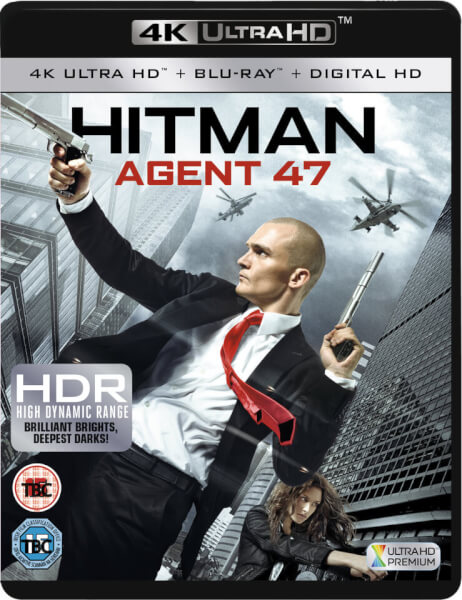 Hitman Agent 47 4K 2015 Ultra HD 2160p