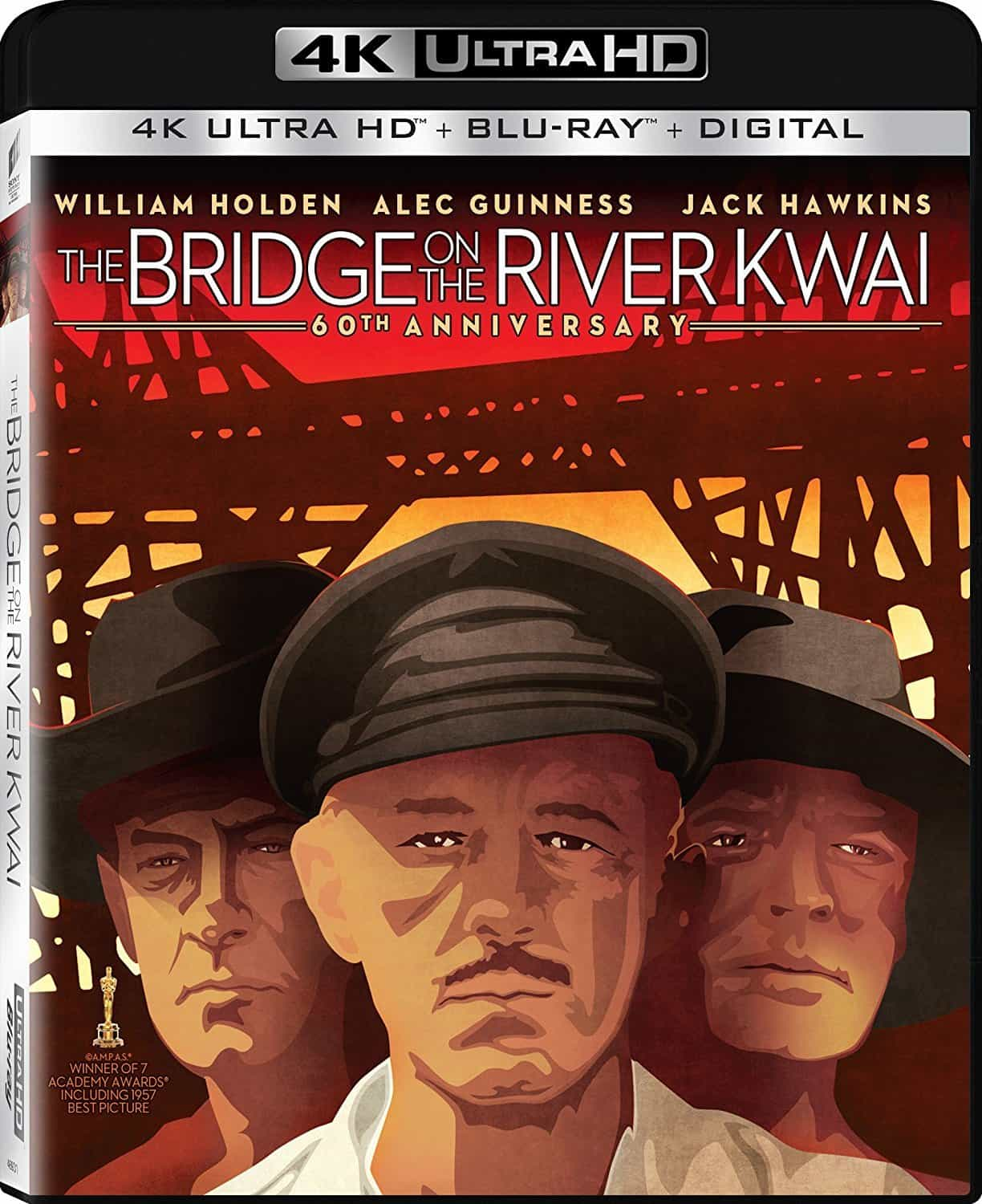 The Bridge on the River Kwai 4K 1957 Ultra HD 2160p