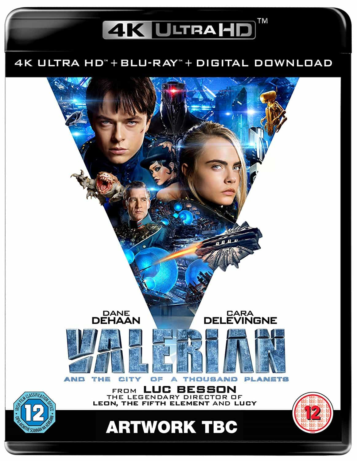 Valerian and the City of a Thousand Planets 4K 2017 Ultra HD 2160p