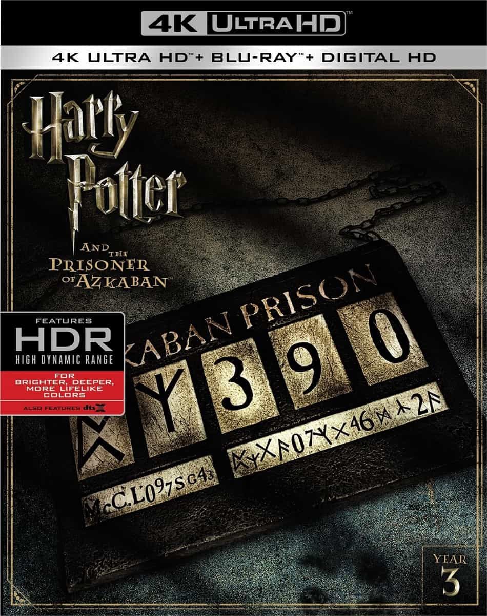 Harry Potter and the Prisoner of Azkaban 4K 2004 HDR UHD 2160p