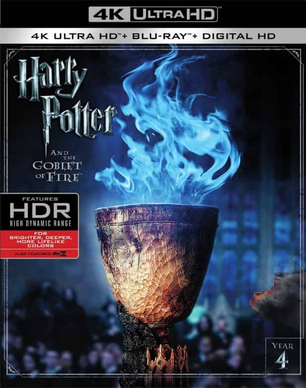 Harry Potter and the Goblet of Fire 4K 2005 Ultra HD 2160p