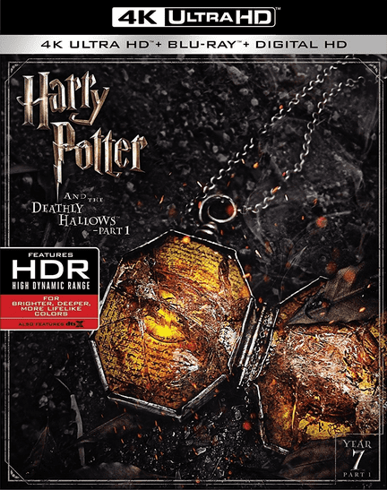 Harry Potter and the Deathly Hallows Part 1 4K HDR 2010 Ultra HD 2160P