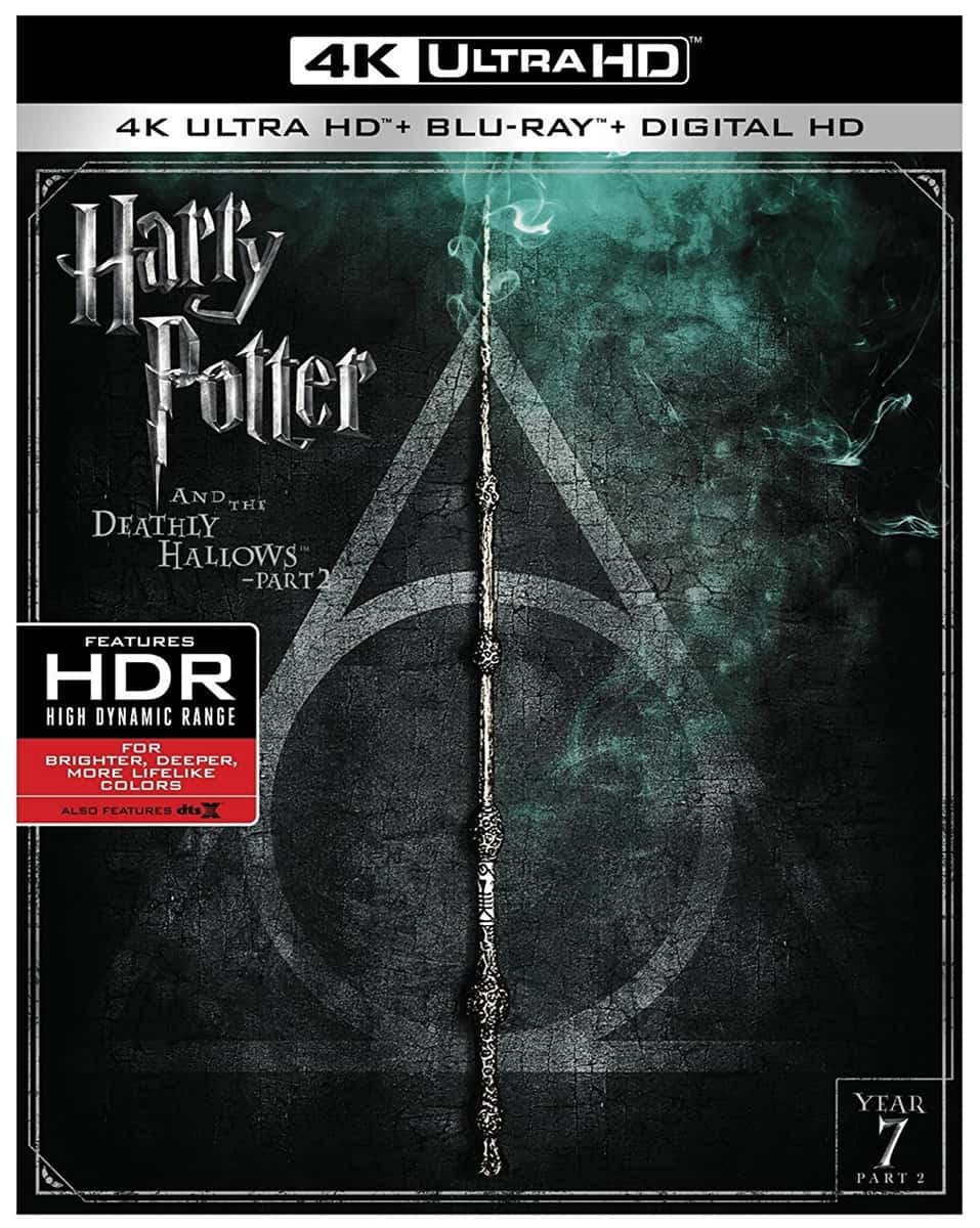 Harry Potter and the Deathly Hallows: Part 2 4K HDR 2011 Ultra HD 2160p