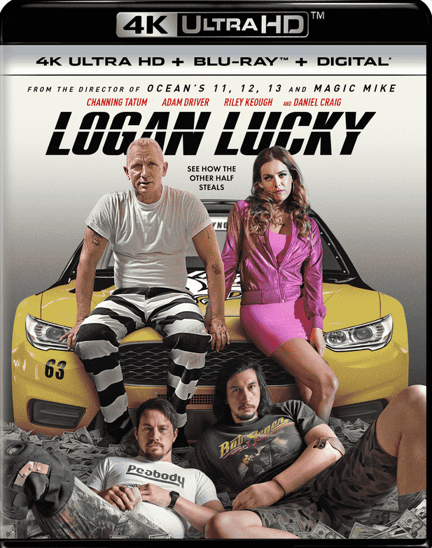 Logan Lucky 4K HDR 2017 Ultra HD 2160p