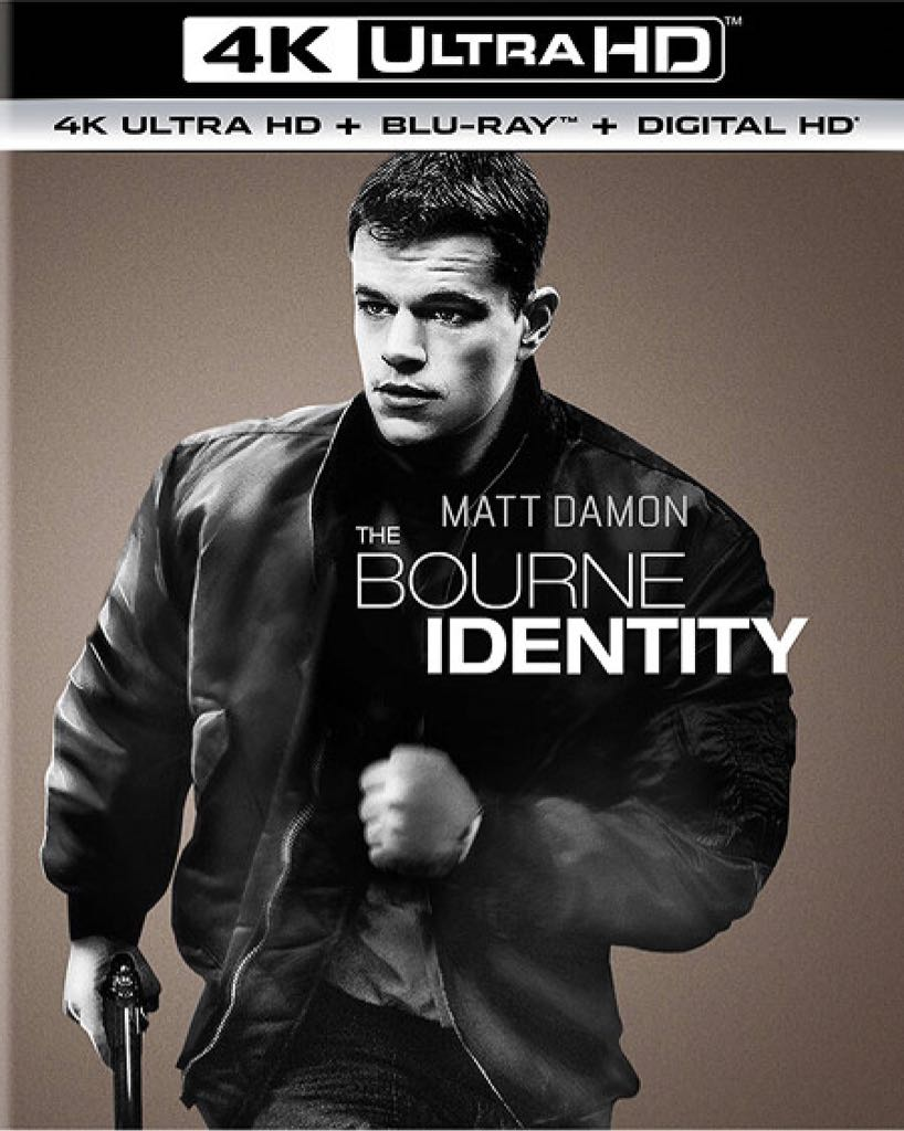 The Bourne Identity 4K HDR 2002 Ultra HD 2160p
