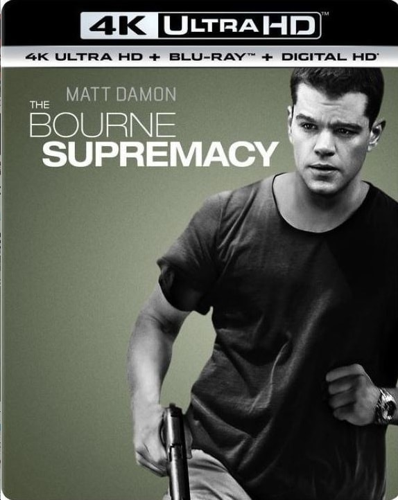 The Bourne Supremacy 4K HDR RIP 2004 Ultra HD 2160p