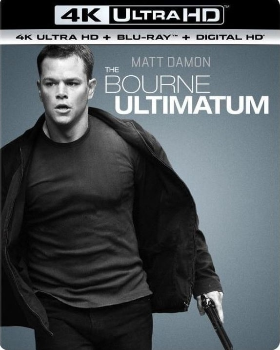The Bourne Ultimatum 4K 2007 Ultra HD 2160p