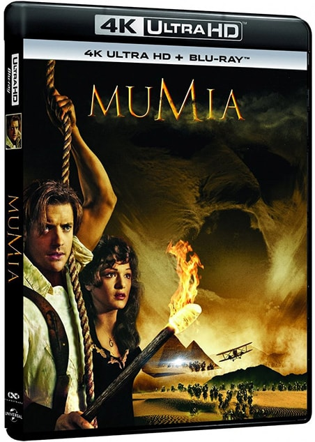 The Mummy 4K HDR 1999 RIP Ultra HD