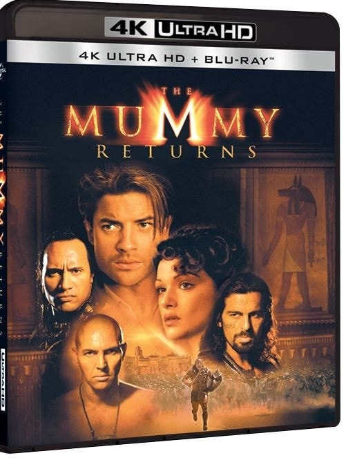 The Mummy Returns 2001 4K HDR Ultra HD 2160P