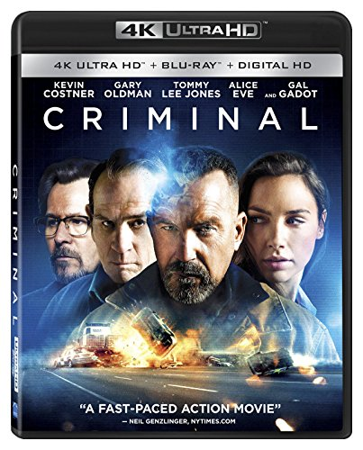 Criminal 4K HDR 2016 Ultra HD 2160p