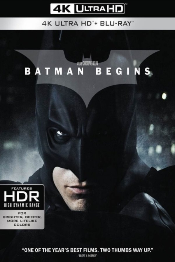 Batman Begins 4K HDR 2005 Ultra HD 2160p Rip