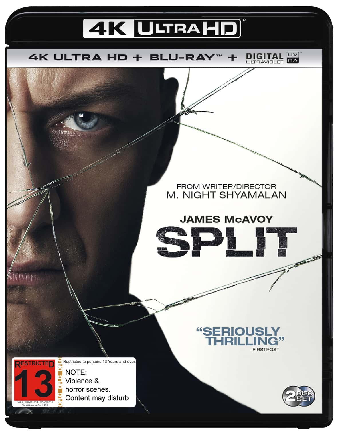 Split 4K HDR 2016 Ultra HD 2160p