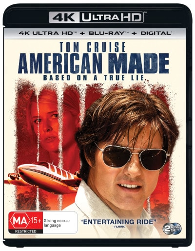 American Made 4K HDR 2017 Ultra HD 2160p