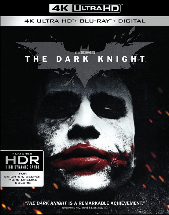 The Dark Knight 4K HDR RIP 2008 Ultra HD 2160p