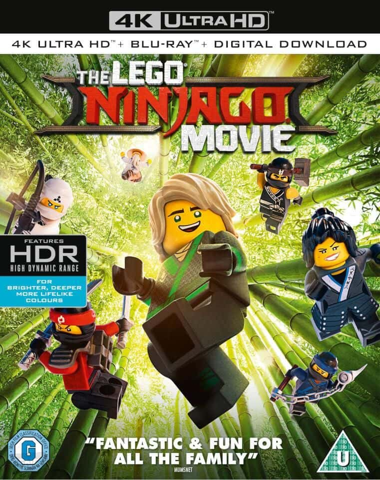 The LEGO Ninjago Movie 4K 2017 Ultra HD RIP