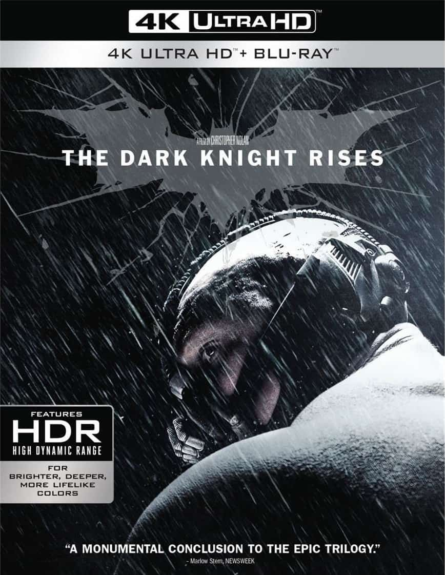 The Dark Knight Rises 4K HDR 2012 Ultra HD RIP 2160p