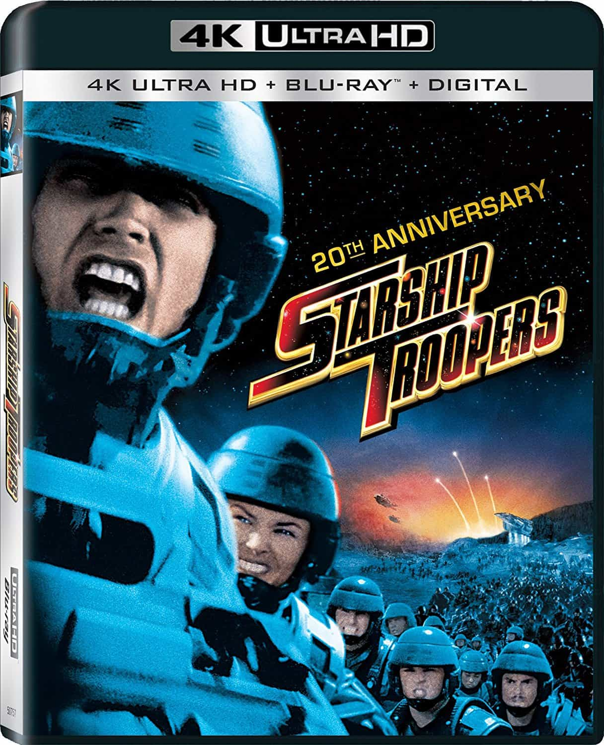 Starship Troopers 4K HDR RIP 1997 Ultra HD 2160p