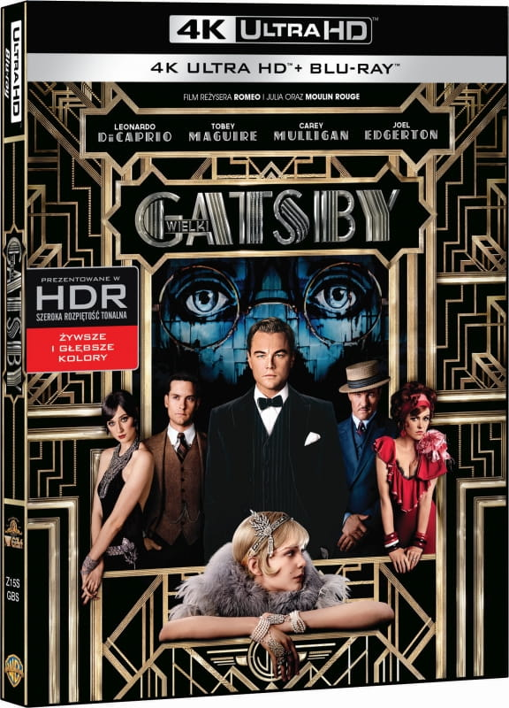 The Great Gatsby 4K HDR RIP 2013 Ultra HD 2160p