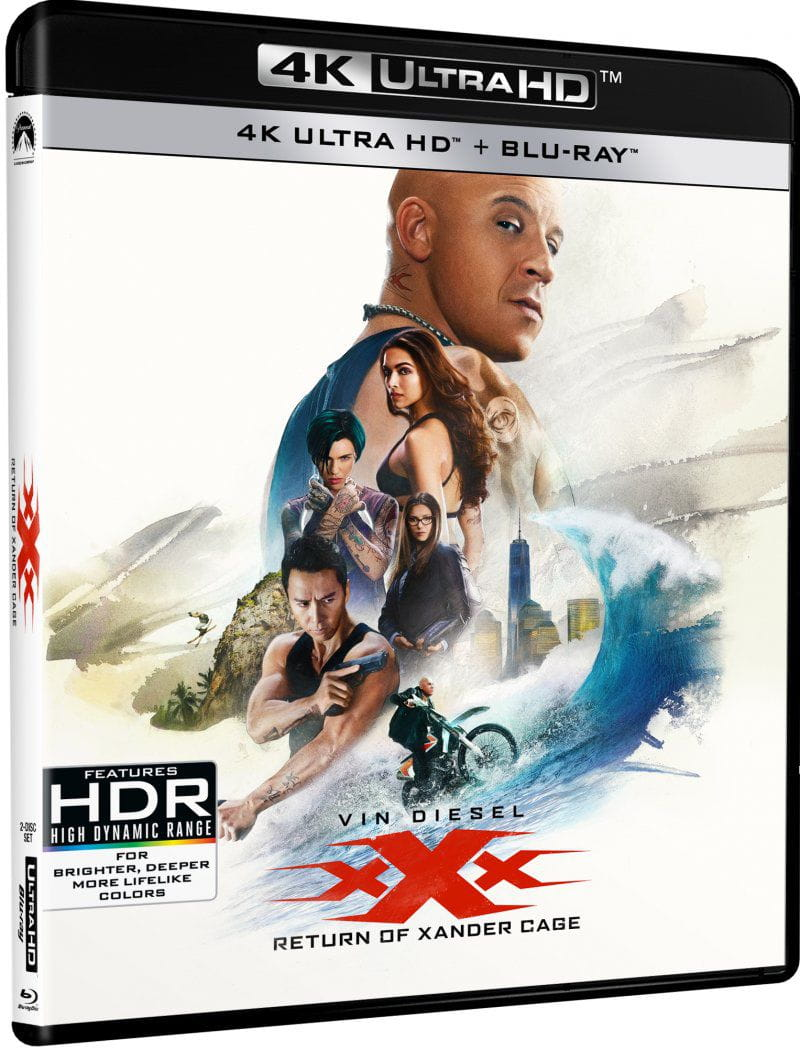 xXx Return of Xander Cage 4K HDR 2017 Ultra HD 2160p