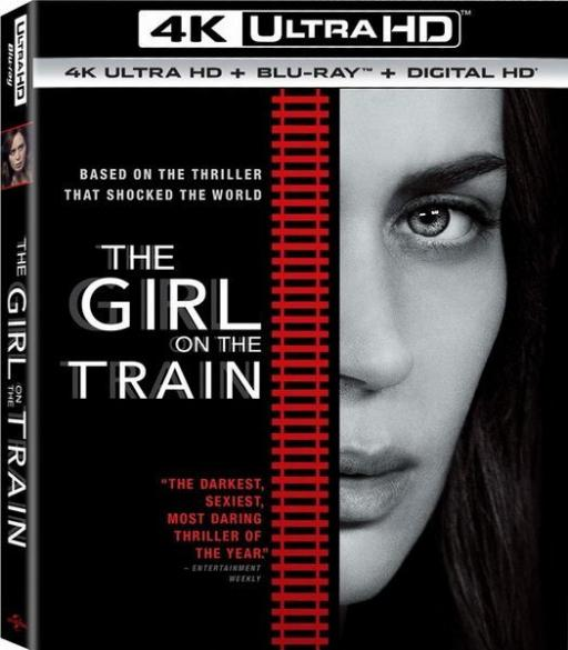 The Girl on the Train 4K HDR 2016 Ultra HD Rip 2160p