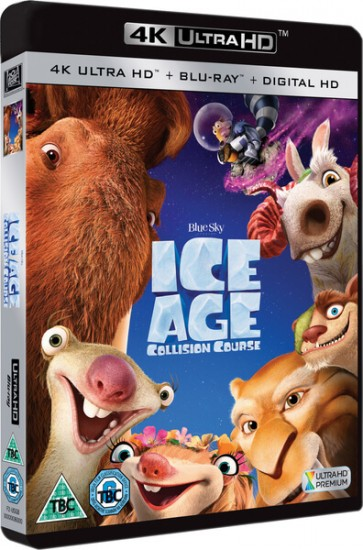 Ice Age Collision Course 4K RIP 2016 Ultra HD 2160p