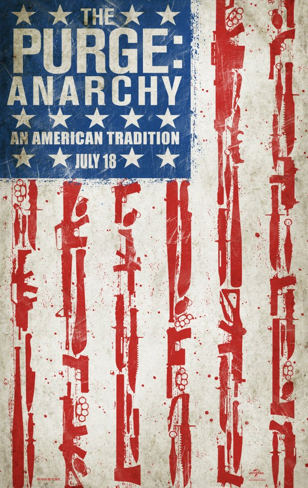 The Purge Anarchy 4K HDR 2014 Ultra HD