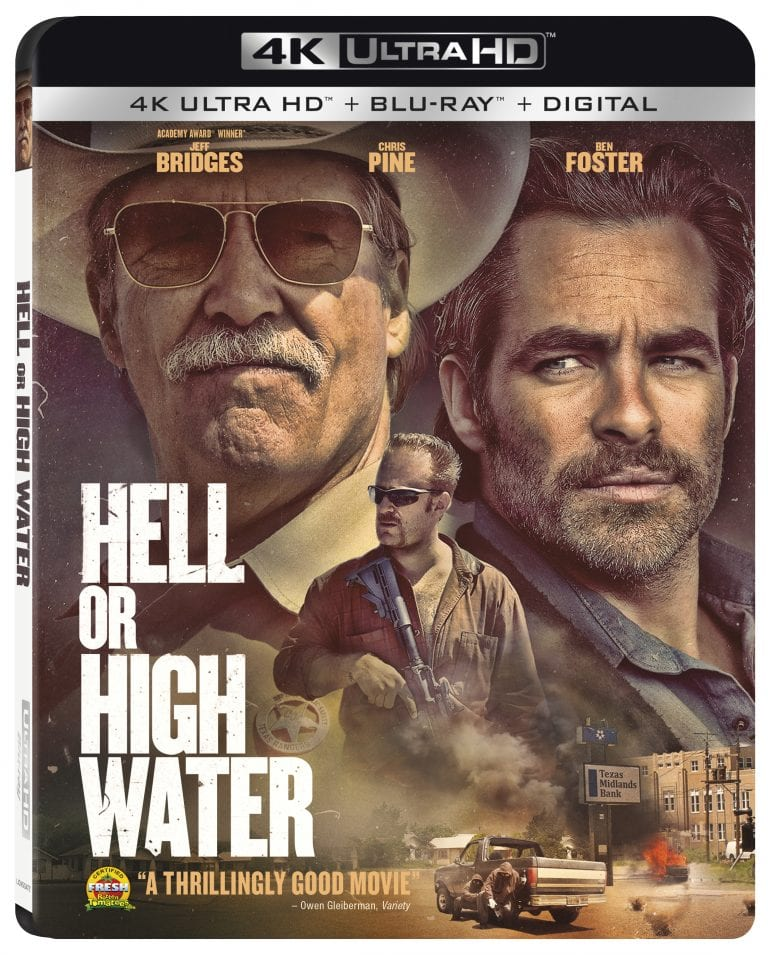 Hell or High Water 4K HDR 2016 Ultra HD 2160p