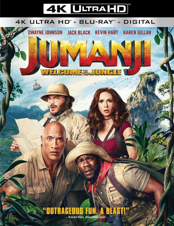 Jumanji Welcome to the Jungle 4K RIP 2017 Ultra HD 2160p