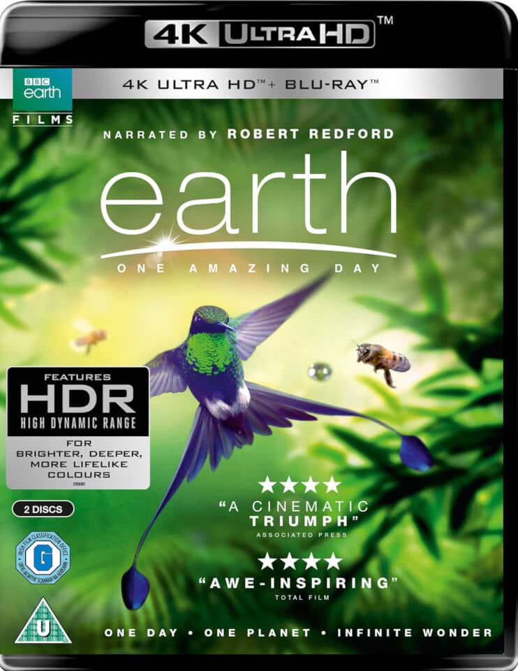 Earth One Amazing Day 4K HDR 2016 Ultra HD 2160p