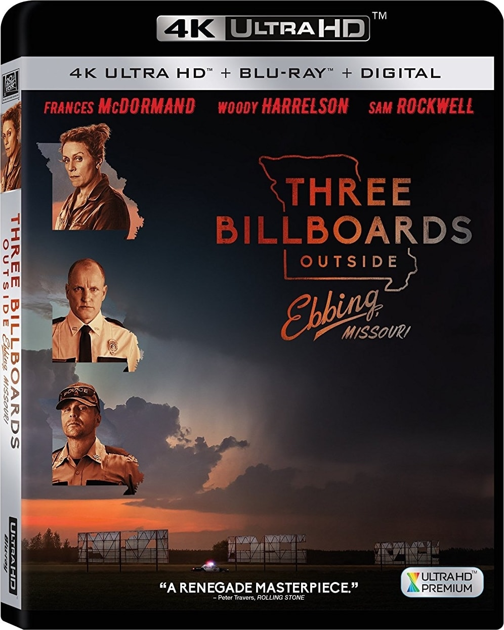 Three Billboards Outside Ebbing, Missouri 4K 2017 Ultra HD 2160p